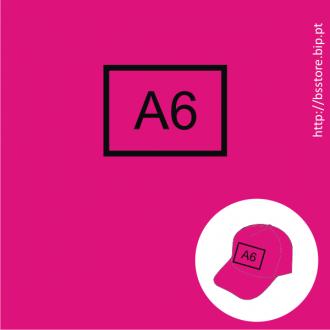 Boné personalizado com impressão A6 1 cor