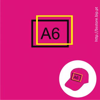 Boné personalizado com impressão A6 2 cores