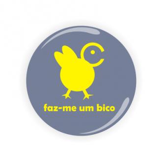 Crachá, Pin, Badge personalizado - Faz-me um bico