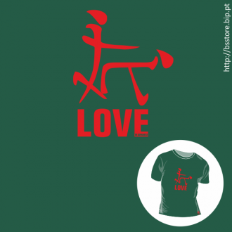 T-shirt personalizada - LOVE in Japanese