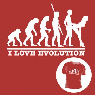 T-shirt personalizada - Human evolution - Sex