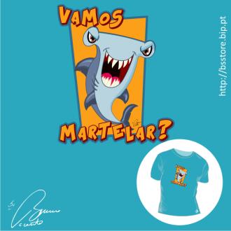 T-shirt personalizada - Vamos Martelar?