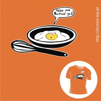 T-shirt personalizada - Não me batas!; Bater; Engraçadas; Trocadilho; Dois significados; T-shirt;