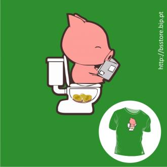 T-shirt personalizada - Porco mealheiro; Poupança; Porco mealheiro; engraçadas; Dinheiro; poupar; banco;
