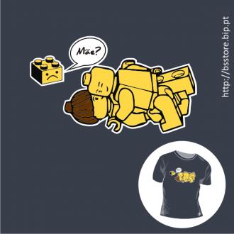 T-shirt personalizada - Mãe lego; Mãe?; Engraçado; Picante; Lego; Mum?; Mom?;