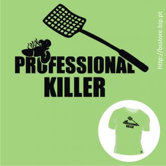 T-shirt personalizada - Professional Killer; Assassino Profissional;