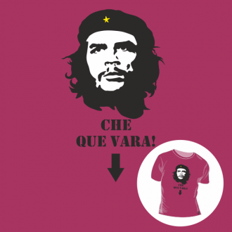 T-shirt personalizada - Che que vara!