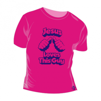 T-shirt personalizada - Jesus loves this guy